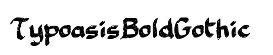 TypoasisBoldGothic