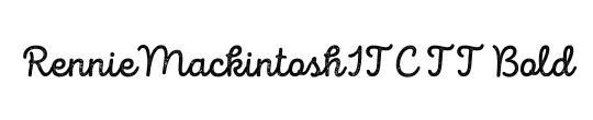 RennieMackintoshITC TT
