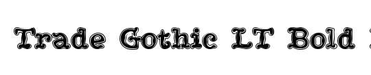 TradeGothic LT