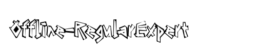 Offline-RegularExpert