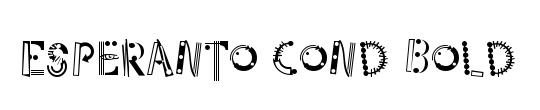 Esperanto Cond SmallCaps