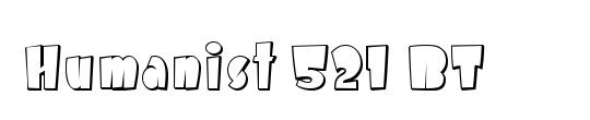 Humanst521 Cn BT