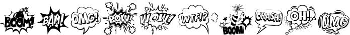 Comic Boom Elements