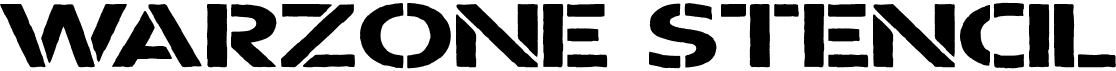 Warzone Stencil